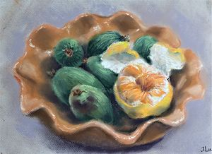 My figs and orange
