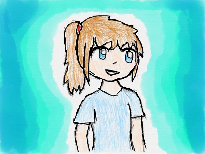 A Girl - Ping's Art