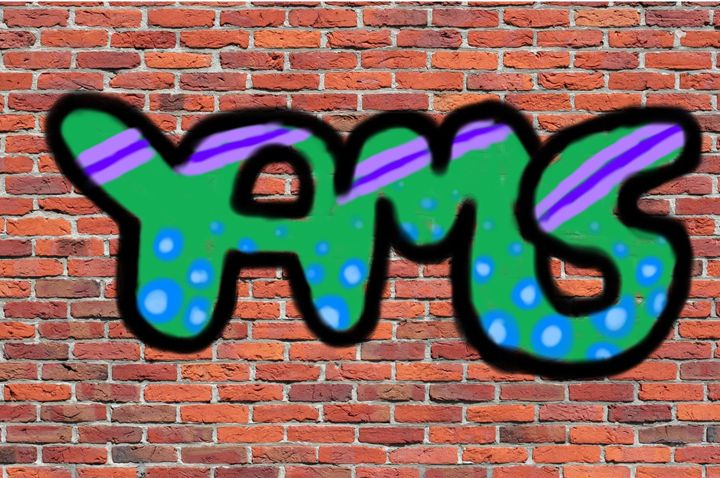 Yams Graffiti - Ping's Art