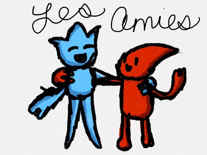Les amies/the friends - Ping's Art