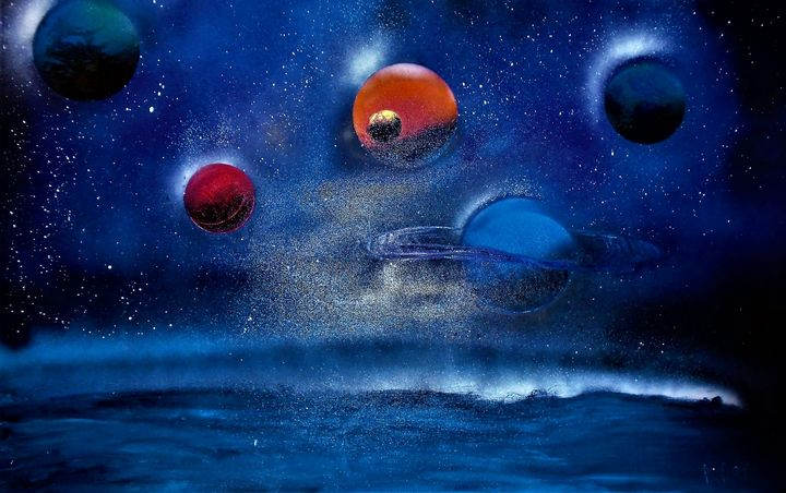 Planets in the night Sky -  Patman81740
