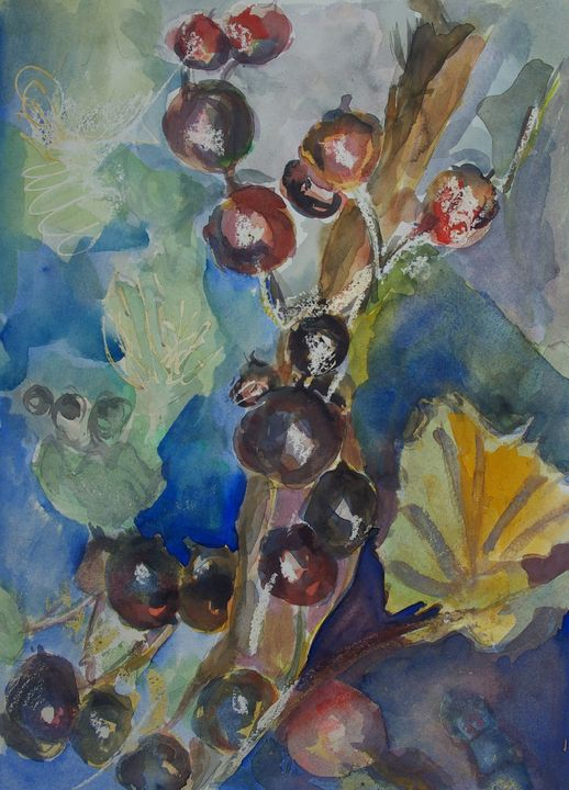 Berry bunch - Abstract paintings