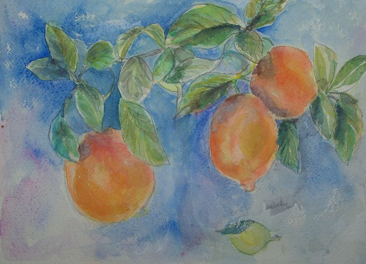 Lemons - Abstract paintings