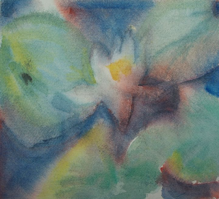 In a Dream waterlily - Abstract paintings