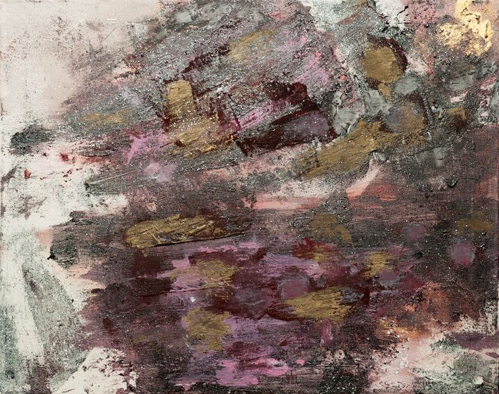 Golden shower - Abstract paintings