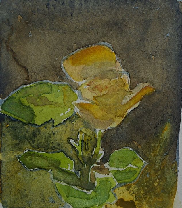 A Rose - Abstract paintings