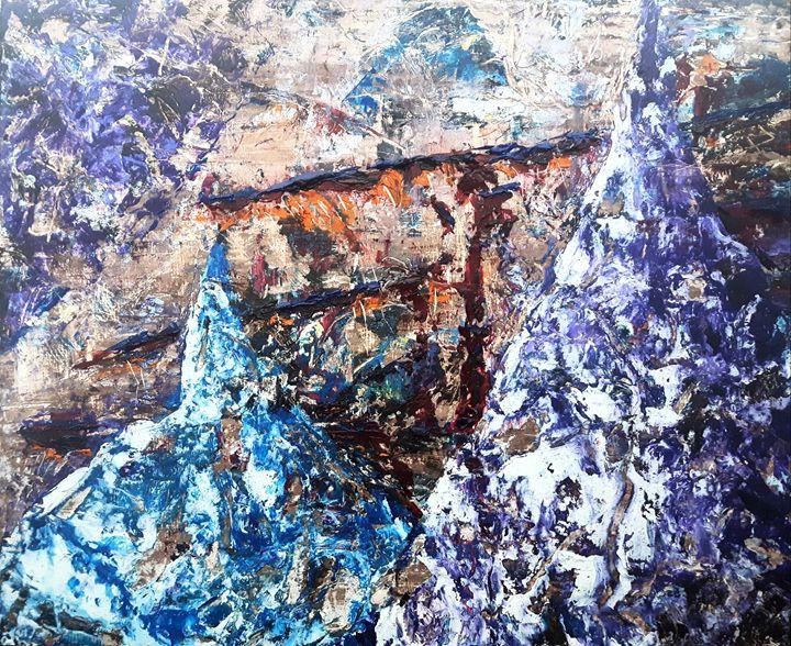 Purple Mountain Sunrise - C.H.Taylor