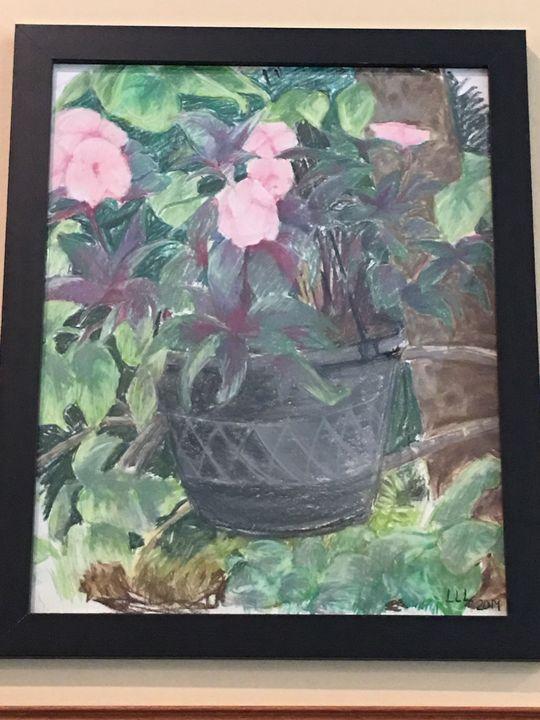 Hanging Pot - Linda Lee Layton