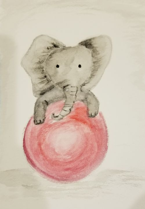 Baby Elephant - ArtmyHart