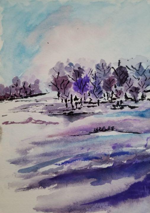 Purple Hues - ArtmyHart
