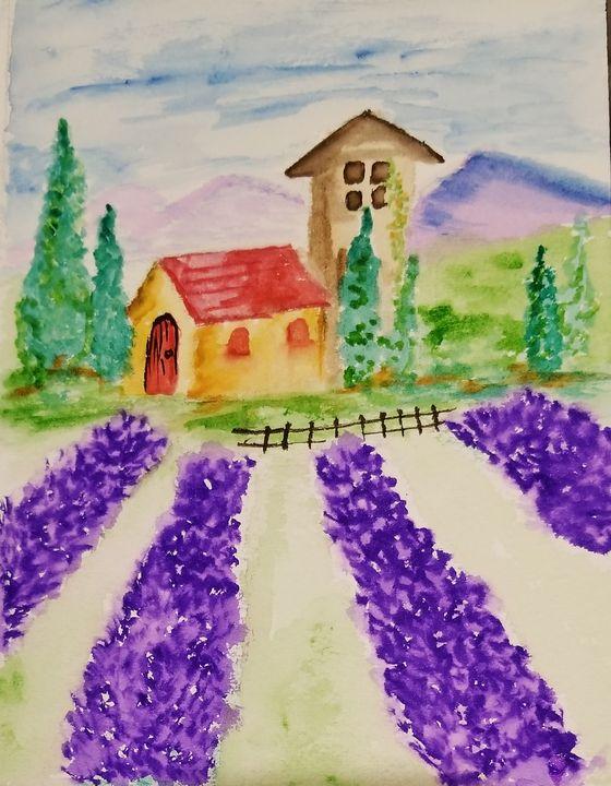 Lavender fields - ArtmyHart