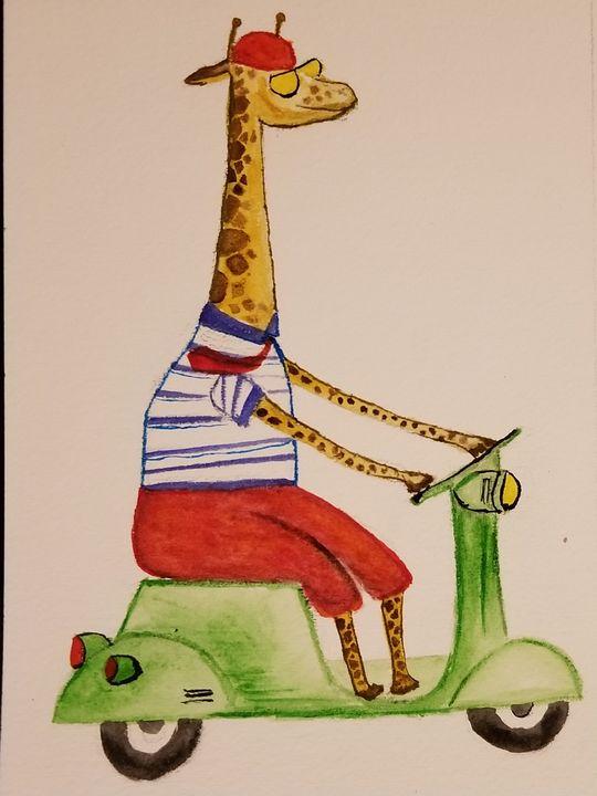 Giraffe - ArtmyHart