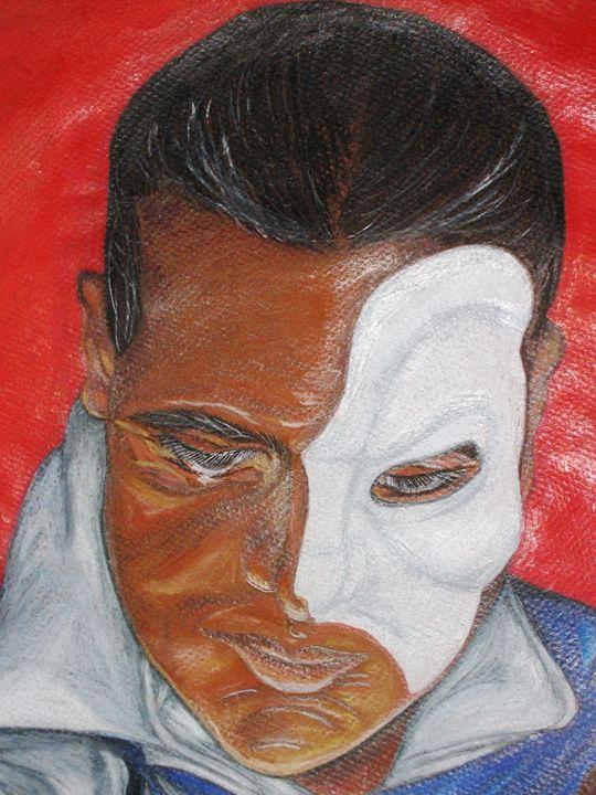 Phantom of the Opera (Detail) - THE Wonderful Art of Sloppy Angel