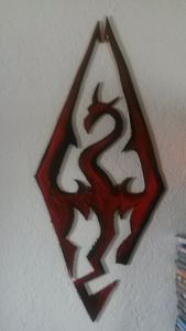 Skyrim wall art