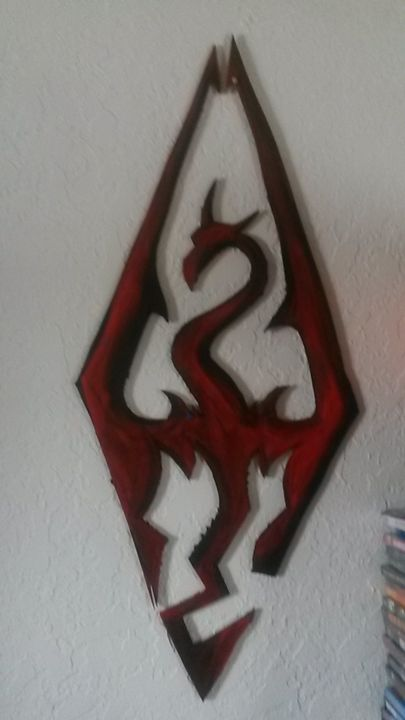 Skyrim wall art - NerdCraft