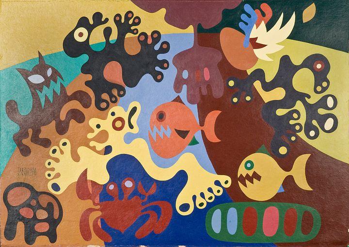 Dreams and Nightmares - JohnKeb Fine Art