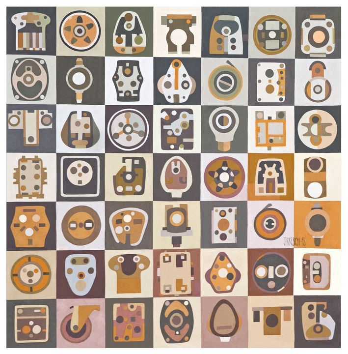 Objects You Find - JohnKeb Fine Art