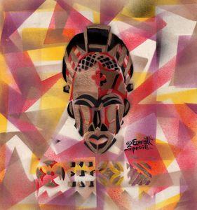 Tikar Mask - Cameroon