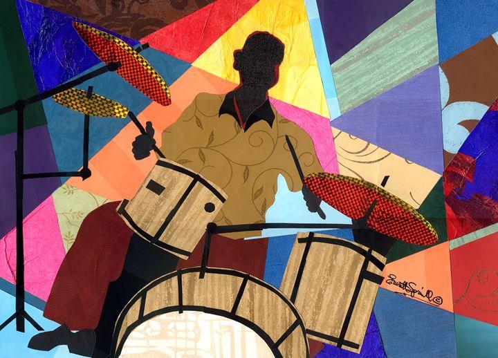 Jazzy Drummer - Artful Soul - Everett Spruill