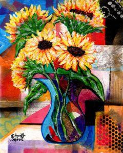 Sunflowers for Antonio