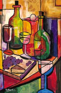 Fruit, Wine and Cheese