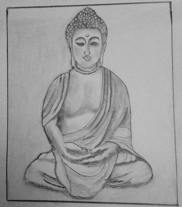 Samadhi Buddha - Prakash Sketch