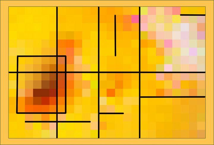 My Mondriaan 01 - Welborne Fine Art