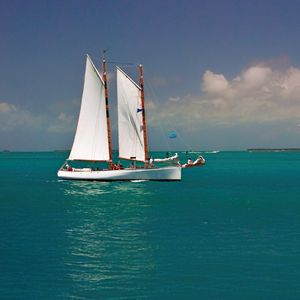 Key West Gaff Rigged Schooner - Welborne Fine Art