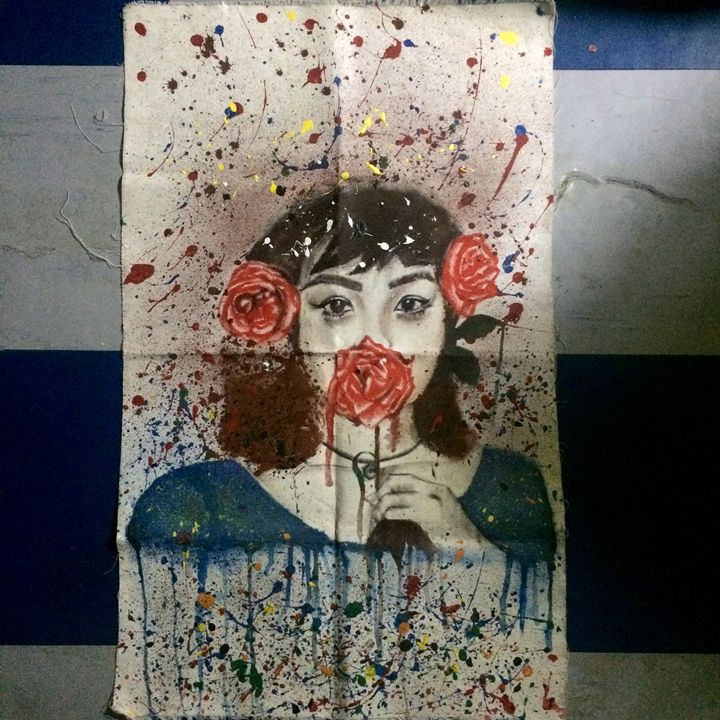 Pollock Girl - Nicole Traballo