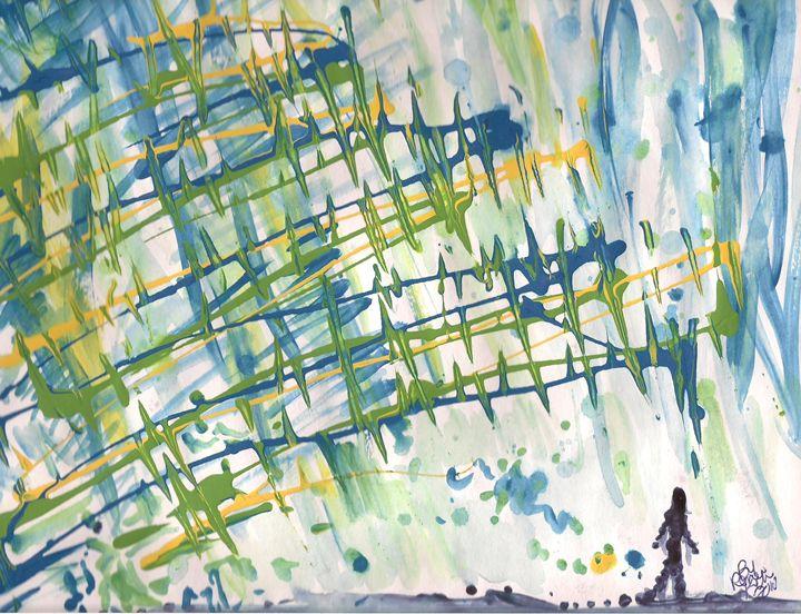 Walking in a Dream - Renee Kilburn