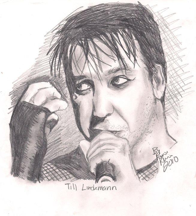 Till Lindemann (Rammstein) - Renee Kilburn