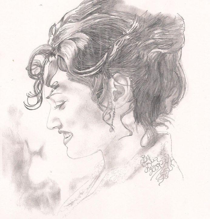 Titanic S Rose Kate Winslet Renee Kilburn Drawings