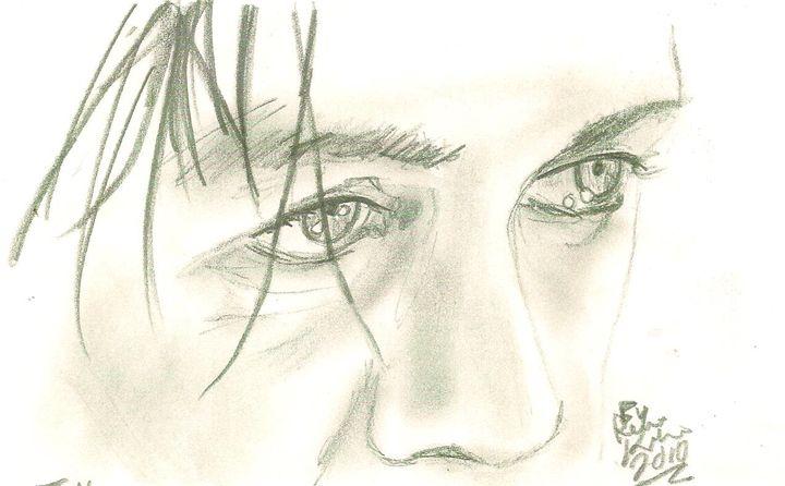 Till Lindemann Eyes (Rammstein) - Renee Kilburn