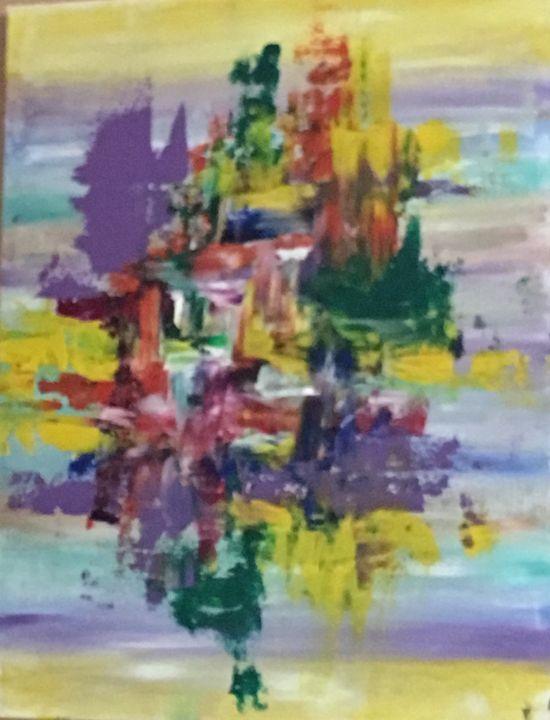 Rainbow bridge - Serendipities on canvas