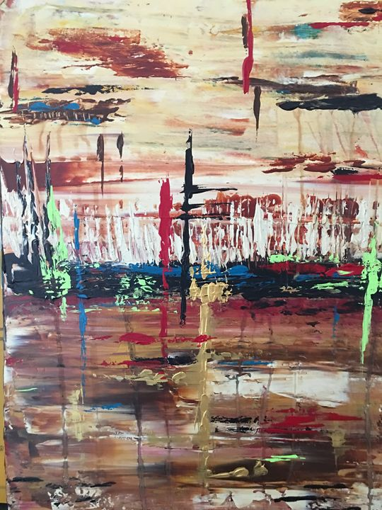 Living among the birches - Serendipities on canvas