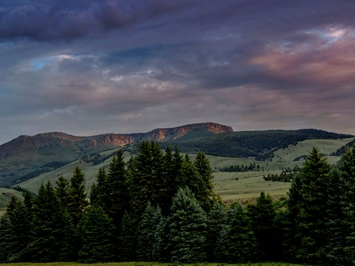 Sunrise In the Mountains - Aspen Willow Fine Art Photography Gallery