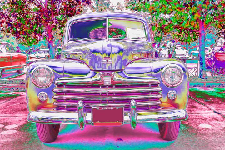 Car Show Fantasia - Aspen Willow Fine Art Photography Gallery