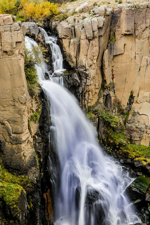 Cascading Falls - Aspen Willow Fine Art Photography Gallery