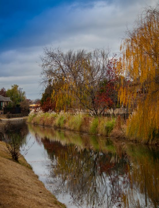 Reflection on the Canal - Aspen Willow Fine Art Photography Gallery