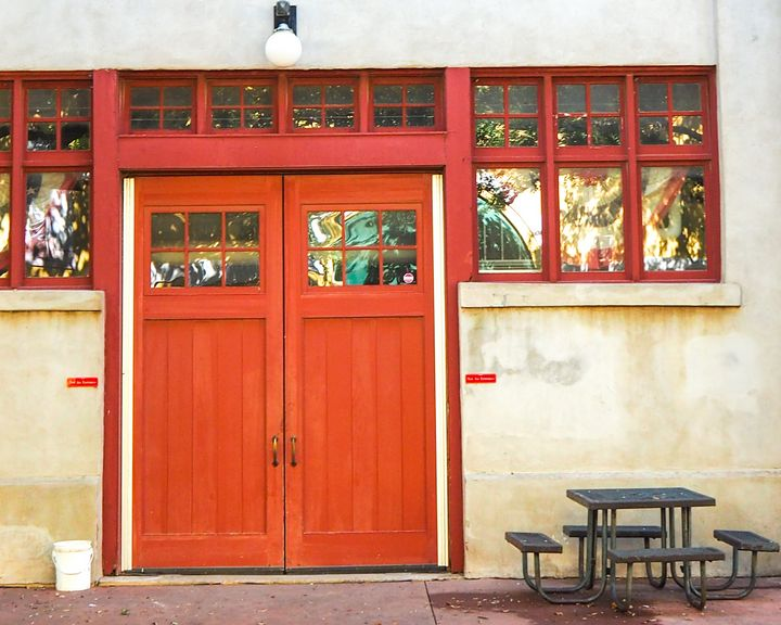 Red Door - Aspen Willow Fine Art Photography Gallery