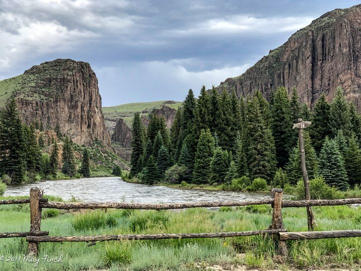 The Rio Grande in the Mountains - Aspen Willow Fine Art Photography Gallery