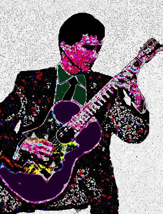 Classical Guitarist - Aspen Willow Fine Art Photography Gallery
