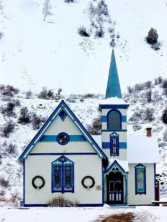 Church in Lake City - Aspen Willow Fine Art Photography Gallery