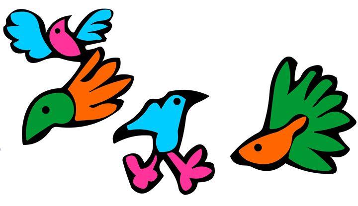 Digital birds - https://www.artpal.com/monkeey/