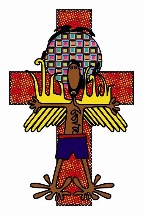jesus - https://www.artpal.com/monkeey/