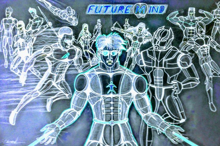 Futuremind: Superheroes # 1 set, clo - futuremind arts