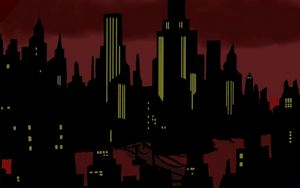 Gotham Deco Noir