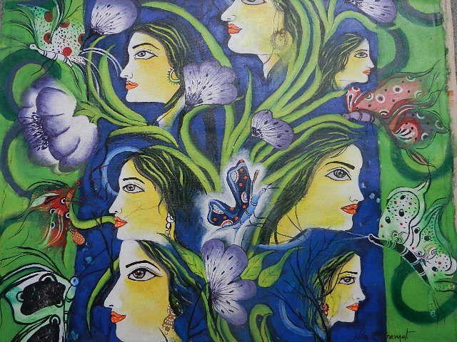 Women's Dream - Nilu's Painting