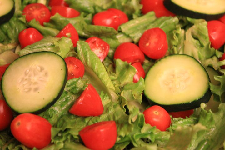 Healthy Green Salad. - Flashbulb Foto