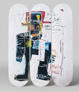 Jean-Michel Basquiat, Irony